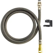 Kitchen Stunning Delta Pull Out Hose Assembly The Home Depot Kitchen Faucet Hose Parts