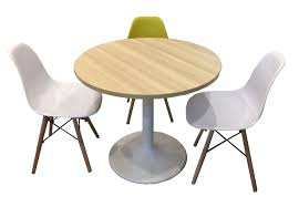 round discussion table leg