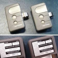 how to program old craftsman garage door opener garage doors sears craftsman garage door opener reset