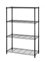details about new 4tier wire shelving unit nsf metal shelf rack 1000 lbs capacity 14 x36 x54
