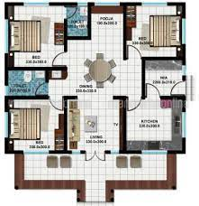 4 bedroom house plan in 5cent