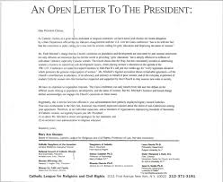 AN OPEN LETTER TO THE PRESIDENT