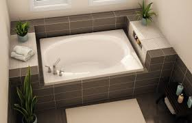 exelent built in soaking tub ilration bathroom and
