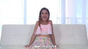 CASTINGCOUCH X Amateur Sofi Ryan fucked and facialed in first porn.