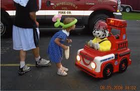 sparky the fire dog robot. robot details   puppet sparky the fire dog