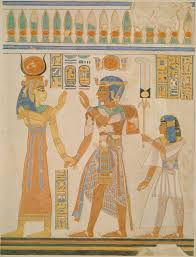 kings and queens of essay heilbrunn timeline of art ramesses iii and prince amenherkhepeshef before hathor