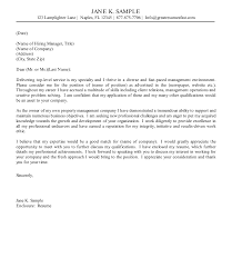 Popular Property Management Cover Letter Sample 36 On Sample Of ...