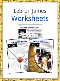 We have lots of great colouring pages for you to have fun practising english vocabulary. Lebron James Facts Worksheets Life Biography Career For Kids