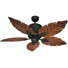 image of exterior ceiling fans leaves
