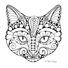 Small Picture Free Printable Coloring Pages Cats Coloring Pages Ideas