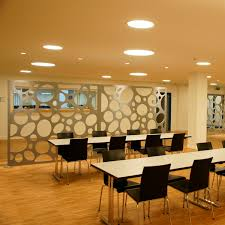 mdf decorative panel for partition walls perforated abz am gÜtsch cafeteria