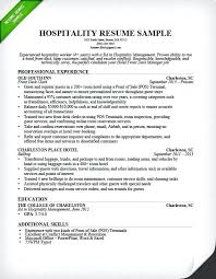 Resume For Hospitality Unique Hotel Front Desk Resume 44 44 Front Desk Resume Sample Hotel Front