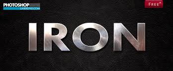 Free Photoshop Iron Styles Photoshoplayerstyle
