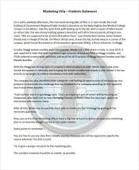Statement of problem pdf