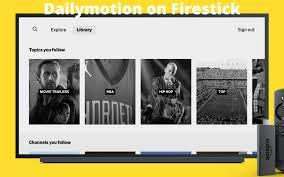 dailymotion on firestick 2021
