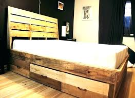 diy king platform bed with storage. Building A Bed Platform Build With Storage S  Plans . Diy King