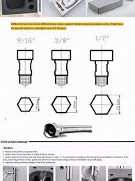 Kitchen Faucet Installation Instructions Kitchen Sink Installation Manual Best Kitchen Ideas 2017