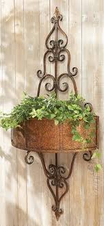 iron planters for outdoors tall outdoor planters indoor planters wrought iron plant stand