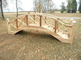 luxury garden bridge design and arched footbridge plans simple big wooden ideas