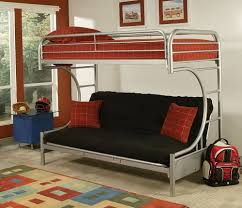 Loft Bed With Sofa Bunk Beds Bunk Bed Over Futon Bunk Beds With Futon On Bottom