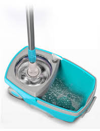 Spin Mop Bucket Portable Magic Double Drive Stainless Steel Hand ...