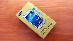 Samsung Galaxy S Duos 2 S7582 Unboxing