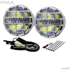 Piaa 520 Fog Lights 520 Chrome Ion Yellow Fog Halogen Lamp Kit