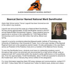 aledo isd on introducing this year s national merit aledo isd on introducing this year s national merit semifinalist from aledo high school tanner legvold congratulations