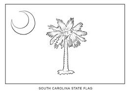 Vlag Van De Staat South Carolina Kleurplaat Gratis Kleurplaten Printen