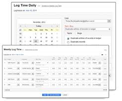 Save Your Time With Templates And Weekly Timesheets « Zoho Blog