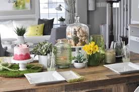 Spring dining table setup plus a green home tour sneak peek -