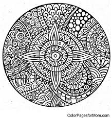 Small Picture Adult Advanced Mandala Coloring Pages 24308 Bestofcoloringcom