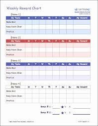 behavior charts for preschoolers template weekly behavior chart template and preschool behavior chart