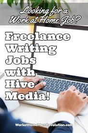 lance writing jobs hive media work at home mom revolution hive media s idolator are seeking lance writers to write posts and longer articles about pop music