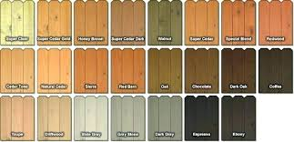 Sherwin Williams Stain Chart Sherwin Williams Exterior Stain Colors Trend Design