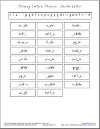 Ch, sh, th, ck, ng, ck, th, wh. Phonics Double Letter Consonants Ending With Le Missing Letters I Abcteach Com Abcteach