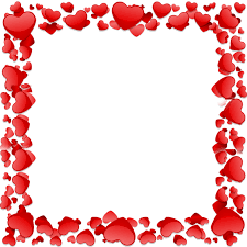 beautiful heart frame beautiful heart vector heart frame frame png and psd