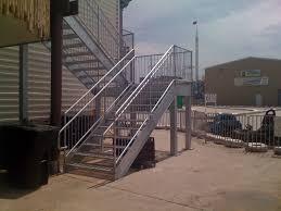 Attractive Outer Staircase Design Exterior Staircase Newsonair
