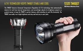 <b>Nitecore TM16GT</b> CREE XPL HI V3 3600LM LED Police Flashlight ...
