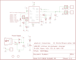 proper charging li ion & lipoly batteries adafruit learning system Cell Phone Charger Cord Wiring Diagram see the schematic for what values result in what charge rates cell phone charger wire diagram