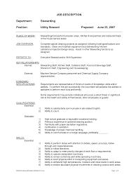 Supervisor Job Description For Resume Atavyros Com