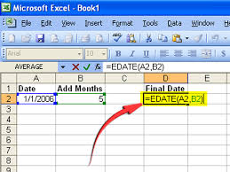 creating formulas in excel how to create a formula to increase a date by 1 month 6 steps