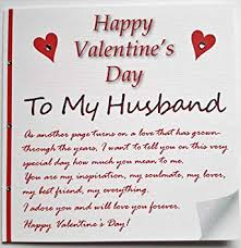 Handmade Valentines Card A Love Letter To My Husband