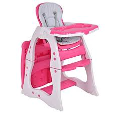 Costzon Baby High Chair, 3 in 1 Infant Table and Chair Set, Convertible Booster Amazon.com :