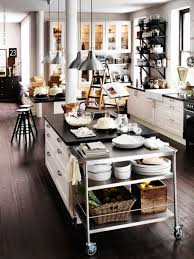 Lovely kitchen from IKEA with several decor elements that adds an industrial  feel.