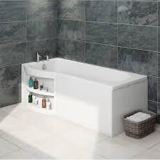 bathroom space savers bathtub storage:
