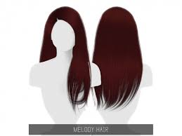 MELODY HAIR - The Sims 4 Download - SimsDomination