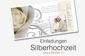 Einladungskarten Silberhochzeit Einladungskarten Silberhochzeit