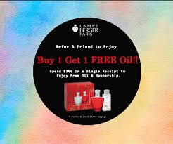 1 for 1 deal at lampe berger