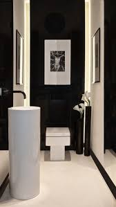 Black And White Bathroom Decor Best 25 Black Toilet Ideas On Pinterest Concrete Bathroom